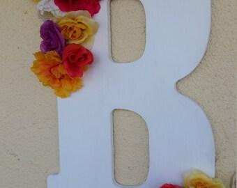 Floral Spring Letter
