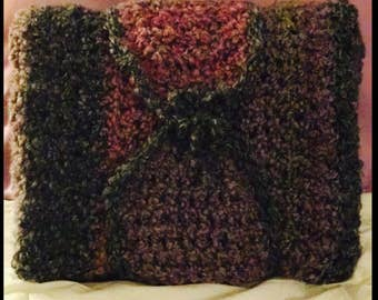 Hand Knitted Soft Blanket