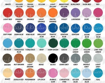 "ORACAL 631/1 SHEET 12"" X 12"" Matte Adhesive Vinyl/Crafts/DIY Vinyl/Cricut/Silhouette Cameo/Wall Decals/Vinyl Sheets"