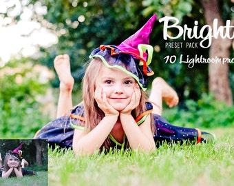 10 Bright Lightroom Preset Family preset Children preset travel preset presets for greens Sunlight preset for Lightroom Matte effect