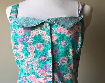 Jane Schaffhausen vintage floral dress