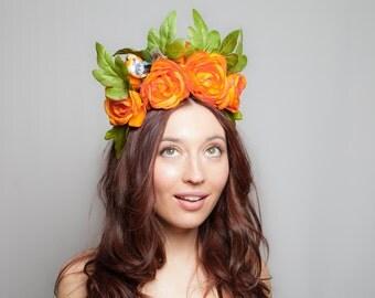 The Tangerine Dream Headpiece