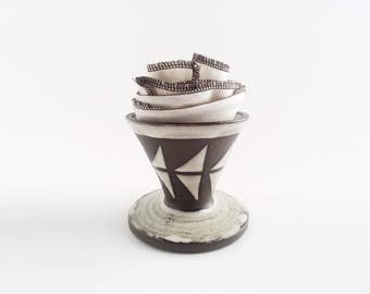 Patterned Ceramic Coffee Dripper