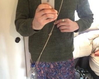 Hemp rope bottle sling