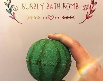 Thanks A Melon Bubbly Bath Bomb