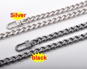 10mm Gold silver gunmetal Chain Strap purse strap handles bag hadnbag Purse Replacement Chains Purse Finished Chain straps High Quality
