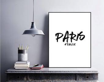 Paris, France Printable