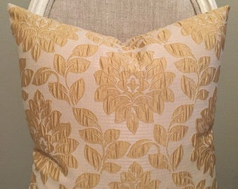 "Golden Priscilla 20""x20"" Pillow Cover"