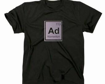 Adamantium logo T shirt