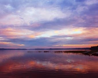 Lake photo, Nature photo, landscape photo, Sky photo, photography, Instant photo, Art photo, beautiful nature, digital photography