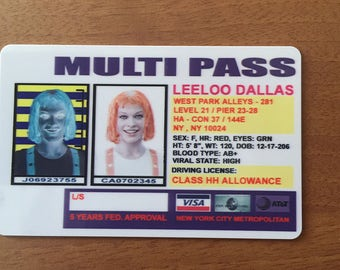 The Fifth Element Leeloo