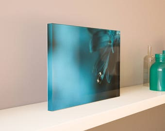 Large Acrylic Photo Blocks (9x6, 12x8, 15x10, 18x12) - Mother Nature Abstract Series 6 - Made 100% In USA - Free Shipping