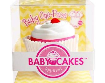 Baby Shower Cupcake Onesie
