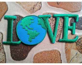 Green Love earth patch.