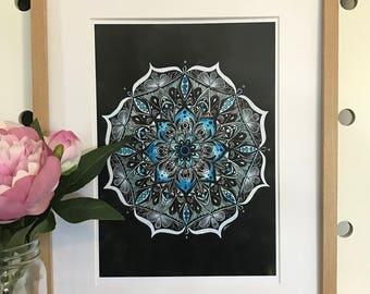 artbrush 'Mandala Blue'
