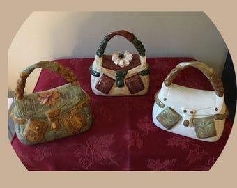 Ceramic purse box
