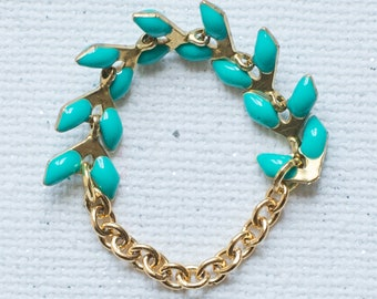 Ring was turquoise and Gold - Collection * Divine in me *.