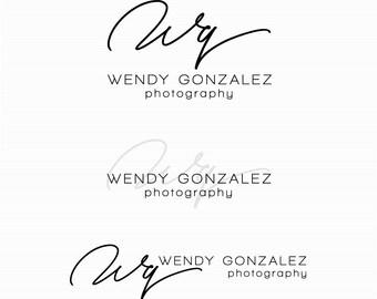 Logo Design - Watemark Logo - Custom Logo - Photography Logo - Business Logo Design