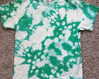 Green Bleach Dye