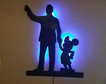 Friends forever. Walt and mickey