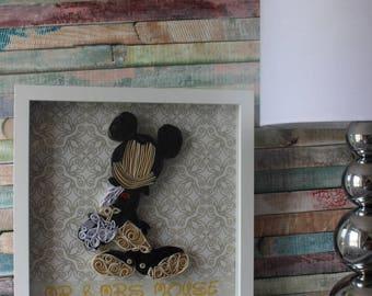 Disney name art, Home decor, weddings gift, disney customisable name gift, gifts and mementos, disney wedding, disney couples, disney sign