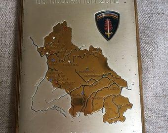 German Occupation Etsy - Ww2 us map case