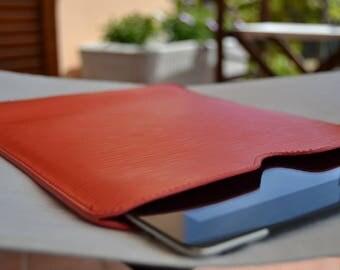 Apple iPad leather case, iPad 2, iPad mini and iPad Pro luxury leather cover, kindle leather cover made in Italy