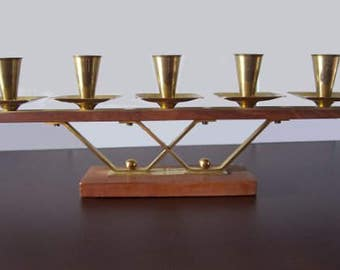 Vintage - candle holders - 50 / 60 s