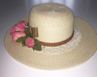 Customized Straw Hat