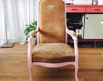 PAULETTE | Armchair Voltaire girly