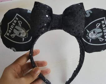 Raiders Mickey Ears