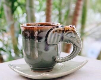 Elephant Ceramic Mug 3D