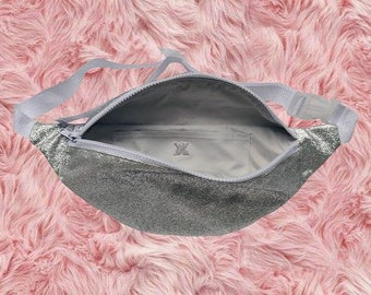 MAGIC MOOD Bum bag Silver Glitter Bag Fanny Pack