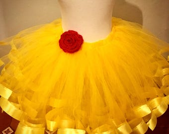 Extra pouffy Belle inspired Tutu