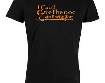 T Shirt I can't Guethenoc Satisfaction man