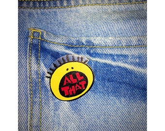 All That shrink plastic pin