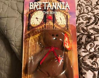 Britannia beanie baby
