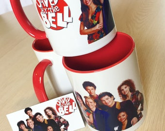 Saved by the Bell Mug and Magnet