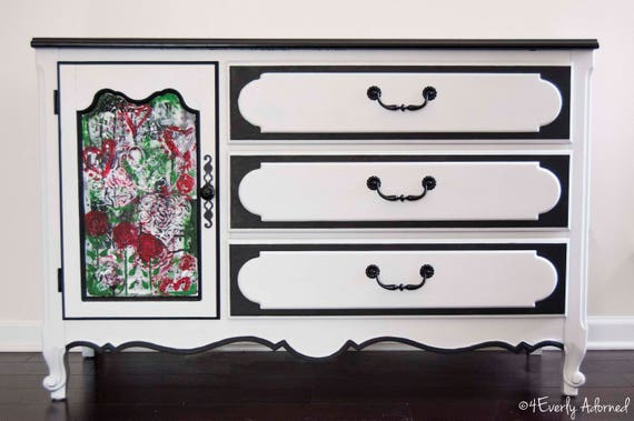 Email for shipping quote. See Below.  Dresser, Children's Furniture, Kids Dresser, Handpainted Furniture, Graffiti, Kids Furniture, Edgy