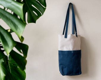 Sustainable cotton bag-from recycled material