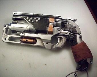 Steampunk/ Dieselpunk toy gun Mod - Silver & Black