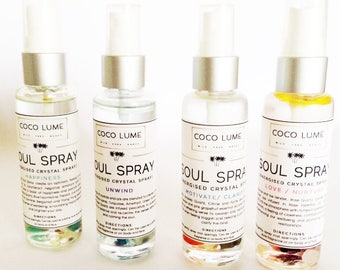 Facial Mist (Active Crystal Therapy Soul Spray)