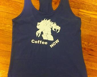 Women's Frozen Monster Coffee Now Shirt