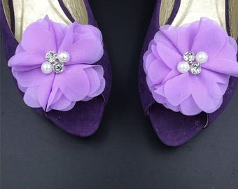 Ribbon Flower Shoe Clip Accessories,Ribbon Flowers ,Hair Clip Accessories