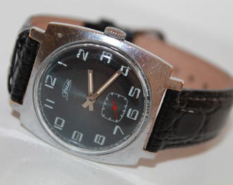 USSR Watch Zim,Pobeda.Soviet Wrist Watch For Men's 1970s.Rare Soviet Era Wrist Watch.Gift Watch fo you/MechanicaL Vintage Watch 1970s.