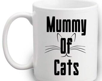 Mummy Of Cats Mug - Cute Gift
