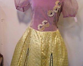Women's 1940s 1950s Fairytale Dress