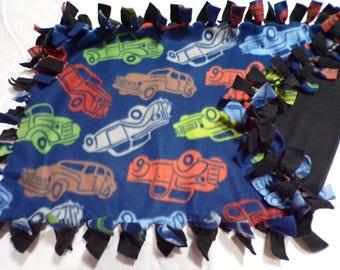 Truck Lovey/Security Fleece Blanket