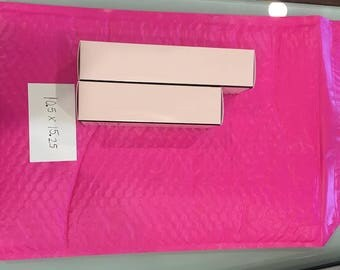 Large Bubble Mailer - Pink - Pack of 10 - 10.5 x 15.25