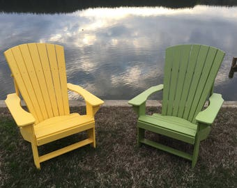 Adirondack Chair Recycled Plastic
